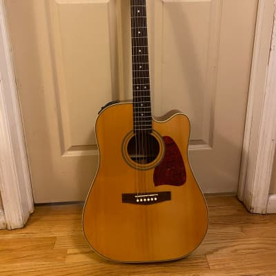Ibanez Acoustic Electric Guitar AW-10 CE 1990's Natural for sale