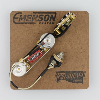 Emerson Custom 3 Way Telecaster Prewired Kit for sale