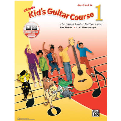 Alfred's Kid's Guitar Course 1 - The Easiest Guitar Method Ever! (w/ Online Access)