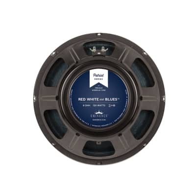 "Eminence Red, White and Blues 12"" 120-Watt 8 Ohm Replacement Speaker"