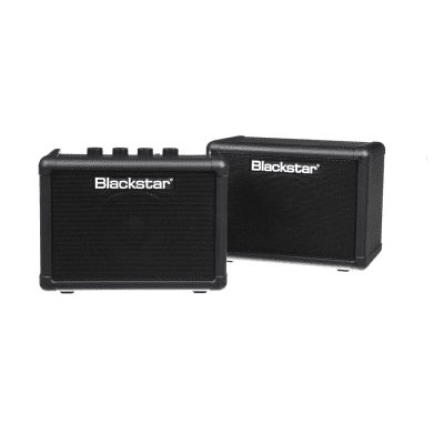 Blackstar FLY Stereo Pack - Battery-Powered Mini Guitar Amp, Extension Cabinet & Power Supply (Black) image