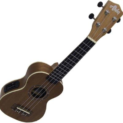 Aloha 500EQ ukelele soprano electrificado for sale