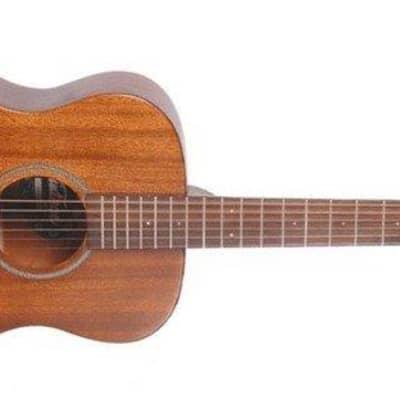 Vintage V300 Acoustic Folk Guitar Outfit, Mahogany for sale
