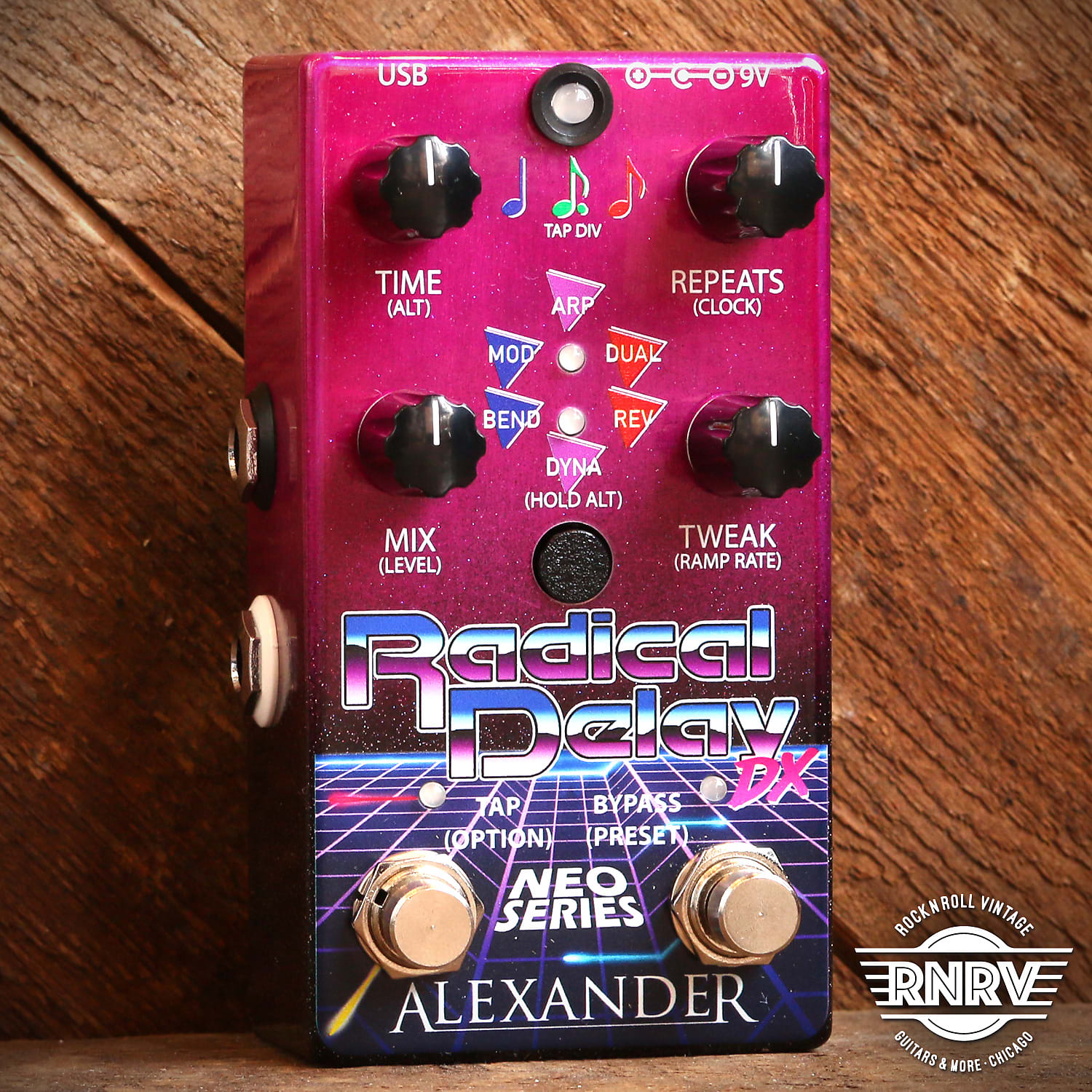 Alexander Radical Delay DX Neo Series Pink Fade