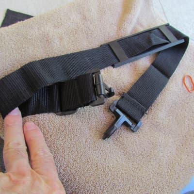 Gig Bag Shoulder Strap Plastic Clip Gig Bag Shoulder Strap Excellent Condition Shoulder Strap