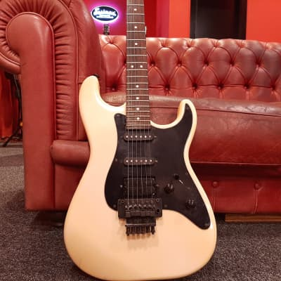 Charvel Model 3A HSS with Rosewood Fretboard 1980s White for sale