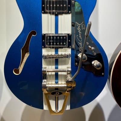 Duesenberg Mike Campbell Heartbreaker Lake Placid Blue for sale