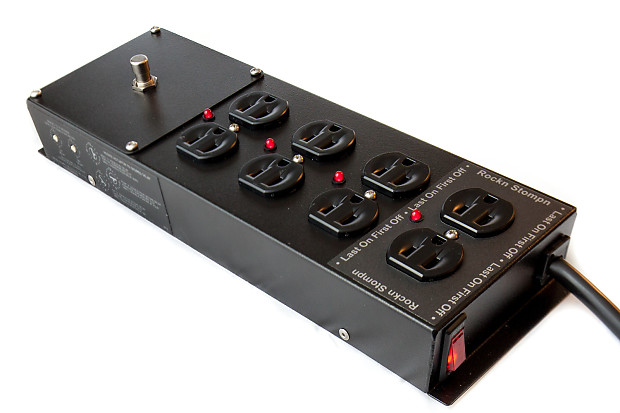 rs 4 guitar amp power conditioner power sequencer surge reverb. Black Bedroom Furniture Sets. Home Design Ideas