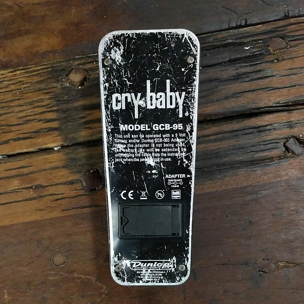 dunlop gcb 95 cry baby wah with fasel inductor reverb. Black Bedroom Furniture Sets. Home Design Ideas