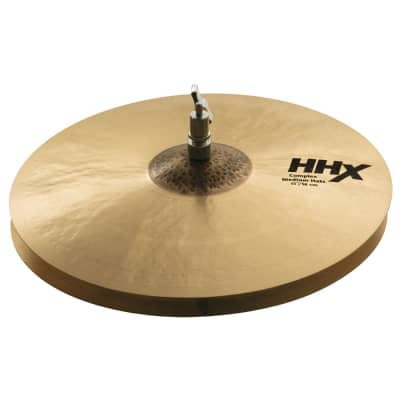 "Sabian 15"" HHX Complex Medium Hi-Hat Cymbal (Bottom) 2019"