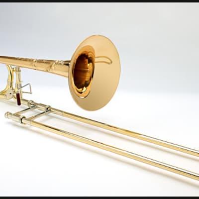 Shires Vintage Elkhart Tenor Trombone with Dual-Bore F Attachment