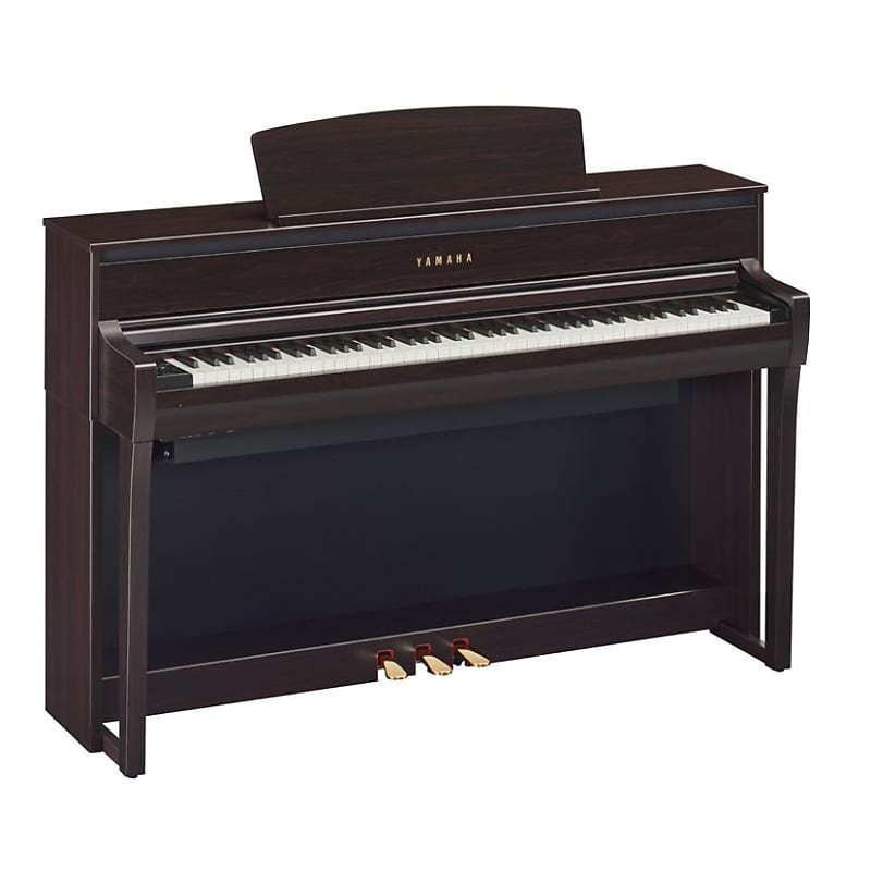 yamaha clavinova clp 675 digital piano in rosewood with bench reverb. Black Bedroom Furniture Sets. Home Design Ideas