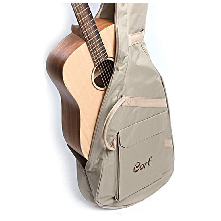 95f6d317dc Cort Earth Series Earth-Grand Acoustic Guitar w/ Bag, Open Pore, New, Free  Shipping