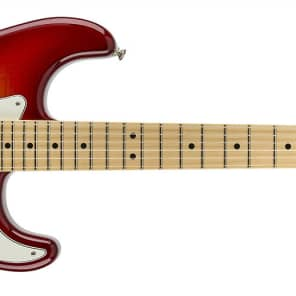 Fender Standard Stratocaster Plus Top, Maple Fingerboard, Aged Cherry Burst 0144612531 for sale