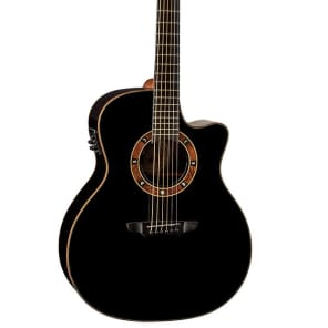 Luna Guitars Fauna Nox Acoustic-Electric Guitar, FAU NOX for sale