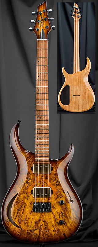 kiesel c6h crescent 6 string carved top electric guitar 2019 reverb. Black Bedroom Furniture Sets. Home Design Ideas