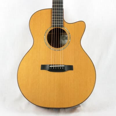 2000 Michael Baranik SJ Steel String Acoustic Guitar CX Cedar Top/Quilted Maple for sale