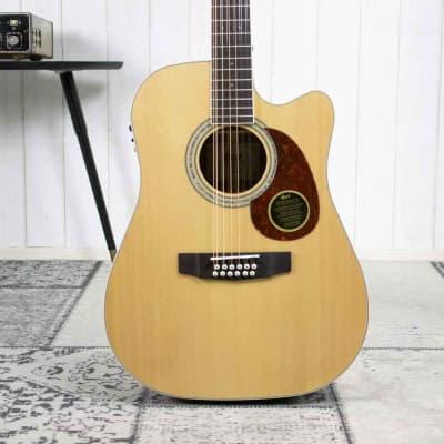 Cort MR710F12 NS 12-STring Guitar Natural Satin