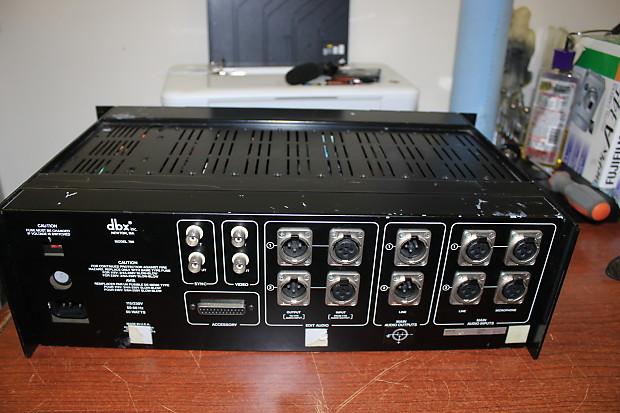 DBX 700 DIGITAL VINTAGE AUDIO PROCESSOR   LAPORTE AUDIO