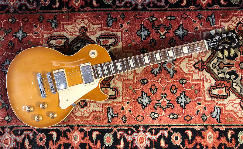 2016 Gibson Les Paul Traditional W Ohsc Case Candy Reverb