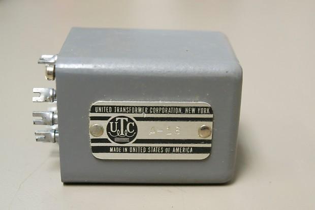 UTC A-18 NOS Audio Transformer   Gordon LaSalle Music CT