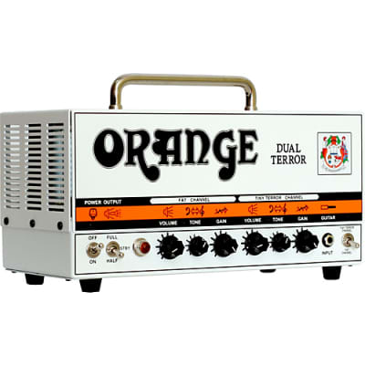 Orange Dual Terror DT30 Head for sale