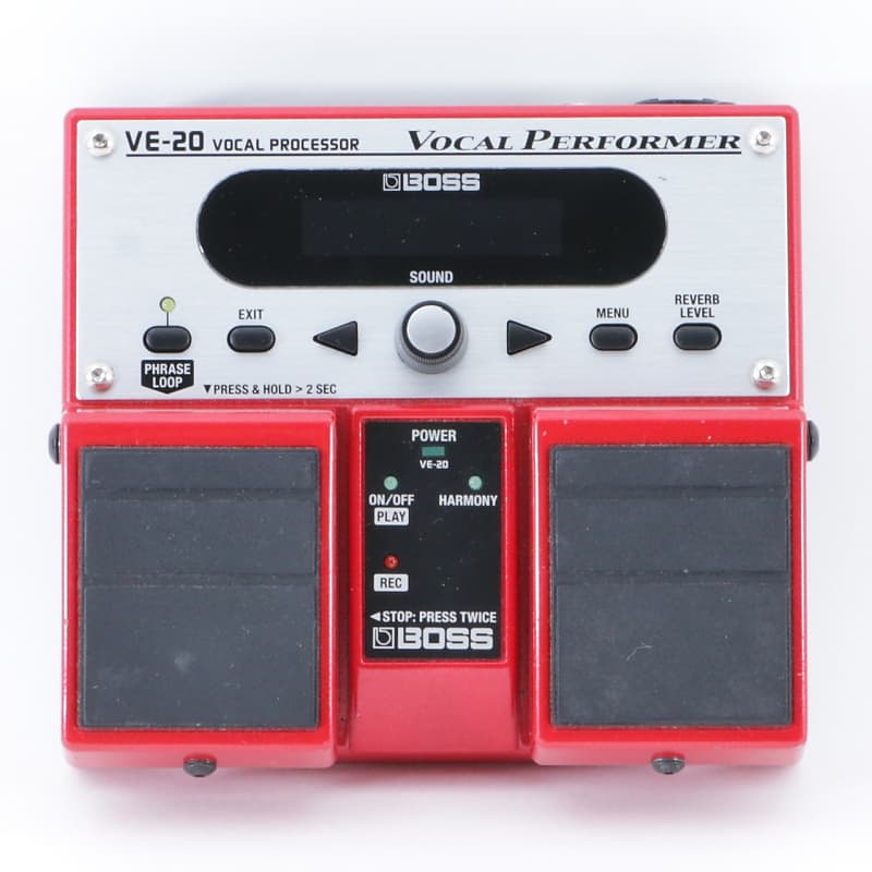 boss ve 20 vocal performer vocal multi effects pedal p 09010 reverb. Black Bedroom Furniture Sets. Home Design Ideas