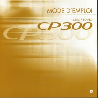 NEW Yamaha CP300 Stage Piano Instruction Manual FRENCH User Guide Documentation