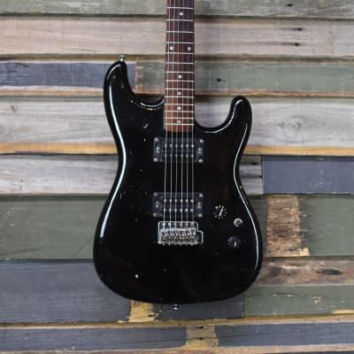 Daion  Super Strat Black for sale