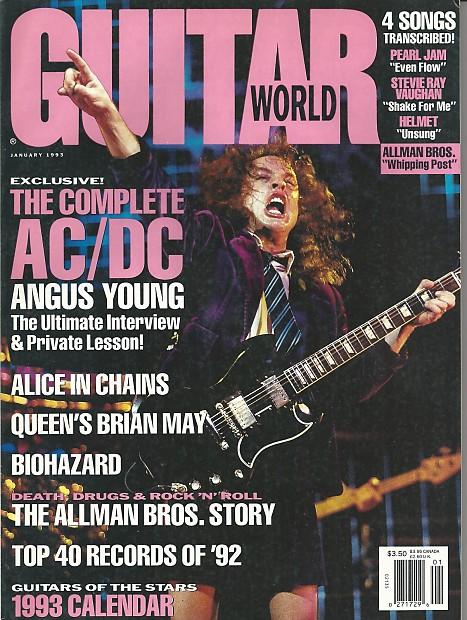 Guitar World-Magazine, January 1993 | Music Solutions LLC