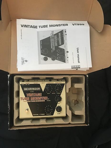 Vintage Tube Monster Vt