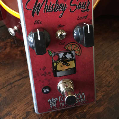 Tortuga Effects Custom Shop Whiskey Sour Compressor, Custom Red W/FREE PRIORITY SHIPPING!