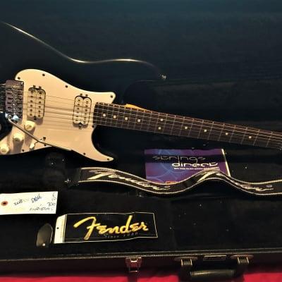 Fender USA Floyd Rose 2 x HH stratocaster 1993 black  with original hard case for sale