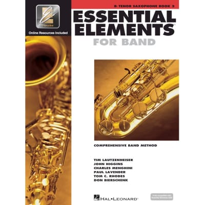 Essential Elements 2000: Comprehensive Band Method - B-Flat Tenor Saxophone | Book 2 (w/ CD)