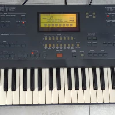 Korg iS50 B dark blue Bosted 1999 keyboard synth iS35-iS40 Arranger Sequencer Workstation SERIAL 118