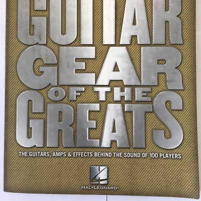 Guitar Gear of the Greats by Dave Rubin with CD Music History Bookats with CD