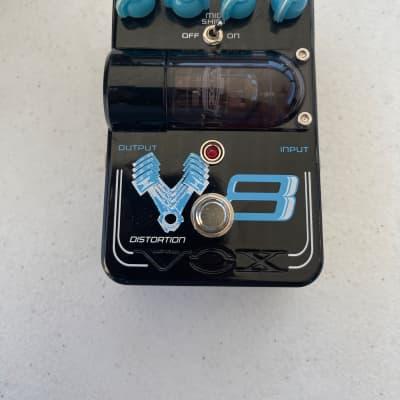 Vox TG1V8DS Tone Garage V8 Distortion Real Tube Rare Guitar Effect Pedal *READ*