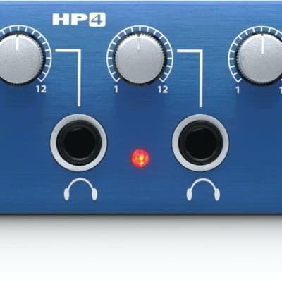 PreSonus 4-Channel Compact Headphone Amplifier - HP4