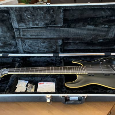 Schecter Blackjack ATX C-8 Matte Black, With Gator Hard Case for sale