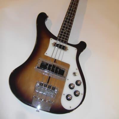 sehr seltener el maya Bass stereo output 1976 gebaut in Japan bass guitar Bassgitarre 4001 Kopie for sale