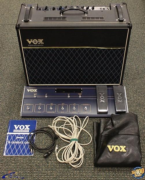 Vox valvetronix manual castellano que