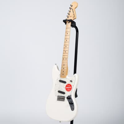 Fender Mustang - Maple, Olympic White for sale