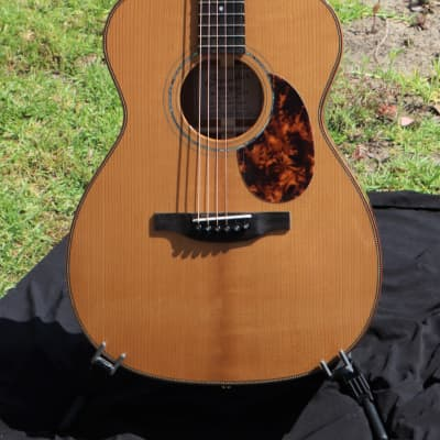 Boucher Limited Edition LE-SG-171 OM Hybrid (Torrefied AAAA Adirondack Top  Figured Koa b/s 2021) for sale