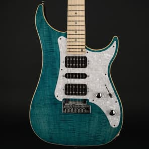 Vigier Excalibur Special in Deep Blue, Maple with Hard Case #170043 for sale