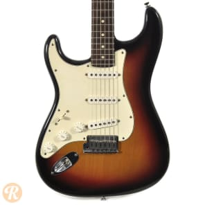 Fender 50th Anniversary American Series Stratocaster Lefty Sunburst 2004