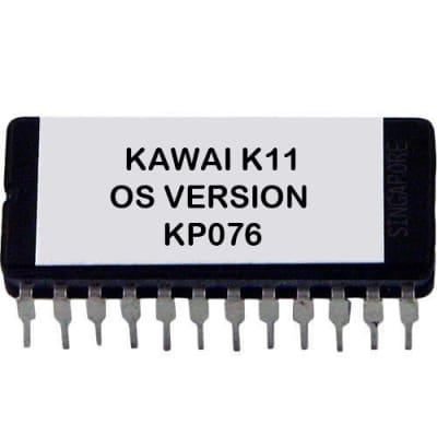 Kawai K11 Version KP076 ROM firmware upgrade EPROM update