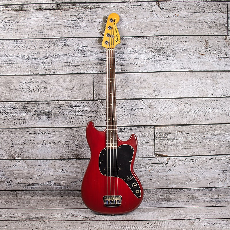 Fender Musicmaster Bass 1981 Used Parkway Music Reverb