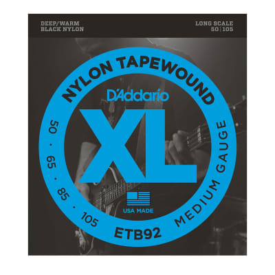 D'Addario Tapewound Electric Bass Strings (50-105)
