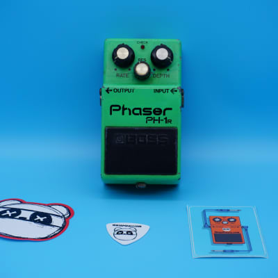 Boss PH-1R Phaser | Rare 1981 Silver Screw (Made in Japan) Black Label | Fast Shipping!