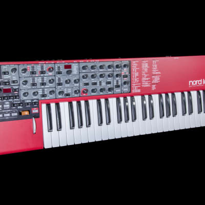 Nord Lead 4 Multitimbral 49-Key Analog Polyphonic Synthesizer